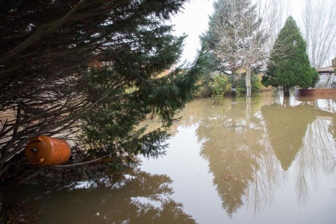 J. L. Leal / ICAL. Inundación en la comarca de Bena. 24/12/19