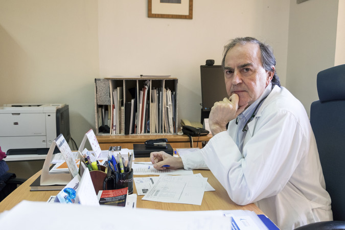 Jesús Formigo / ICAL Marcos González, jefe de servicio de Hematología del CA Salamanca