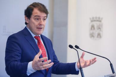Carlos S. Campillo / ICAL El presidente de la Junta de Castilla y León, Alfonso Fernández Mañueco