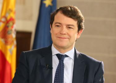 Rubén Cacho / ICAL. Alfonso Fernández Mañueco, presidente de la Junta de Castilla y León
