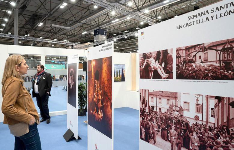 La Consejería de Cultura y Turismo promociona 'Castilla y León. Destino Semana Santa 2020', en Fitur