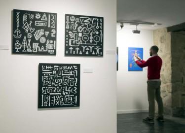 David Arranz / ICAL La Salina acoge la exposición 'Color y negro' del artista Ramiro Tapia.