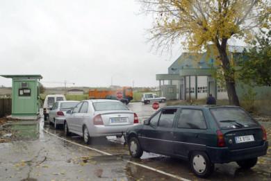 J. L. Leal / ICAL Paro en las instalaciones de ITV de Morales del Vino, Zamora