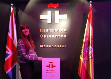 Isabel Sánchez Rodríguez trabaja en el Instituto Cervantes de Mánchester, Reino Unido.