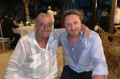 Juan José -Pepe- Hidalgo y Juan Peña. Foto. Instagam.