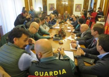 Junta de Seguridad del partido de Copa que enfrenta a Unionistas y Real Madrid en Salamanca.