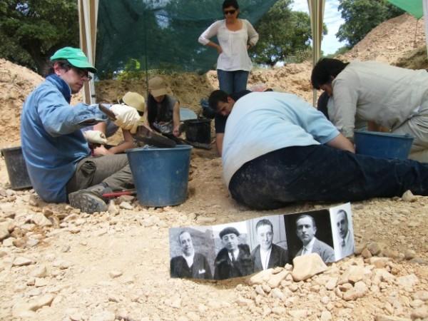 La Asociación Memoria y Justicia de Salamanca busca referencia familiares de El Confiterio, hombre asesinado en 1936 y enterrrado en Castillejo de Martín Viejo. Foto. Archivo. ARMH