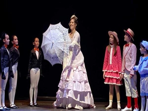 El musical Mary Poppins se pudo ver en Ledesma los días 27 de diciembre y 4 de enero.
