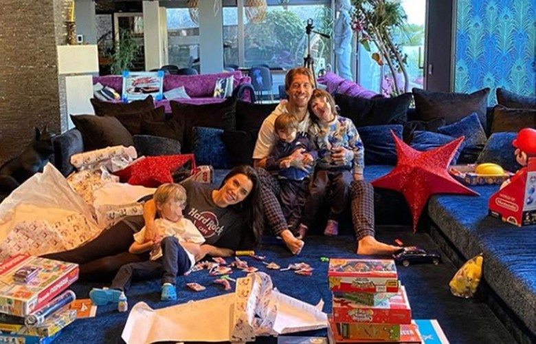 Pilar Rubio y Sergio Ramos esperan su cuarto hijos. Foto. Instagram.