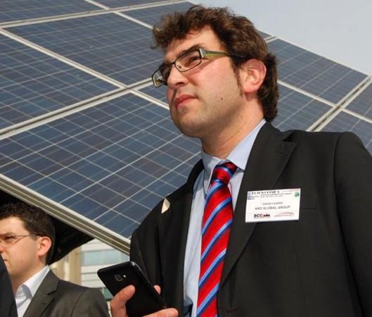 Óscar Charro estudió Ingeniería Química en la Universidad de Salamanca y ahora es el propietario de tres empesas en Polonia.