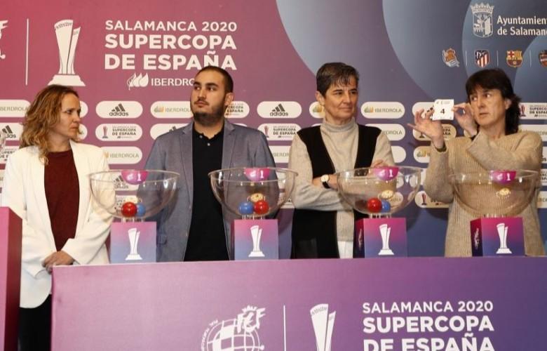 supercopa futbol femenino sorteo