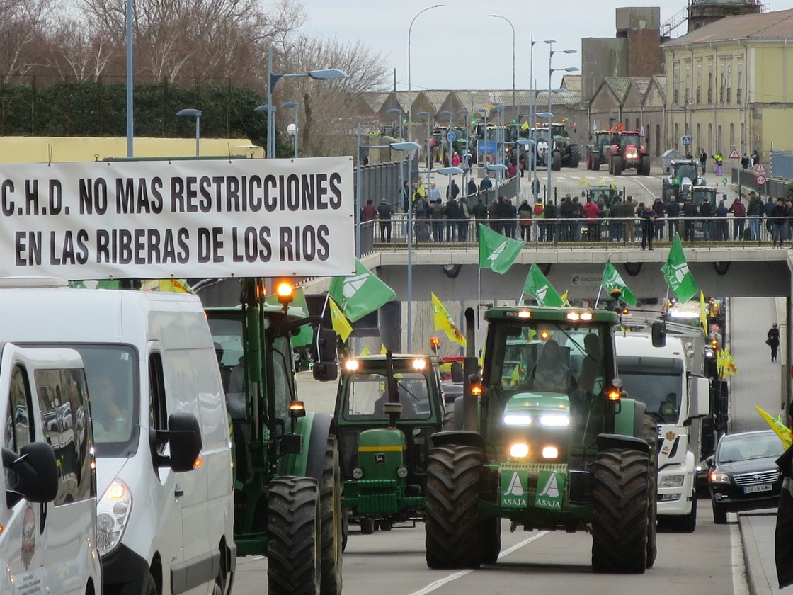 Tractorada en Salamanca