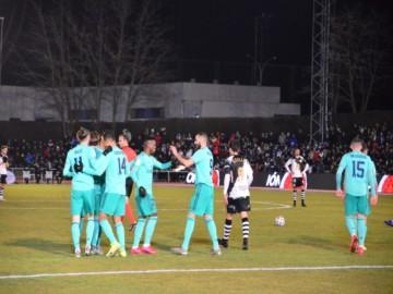Unionistas y Real Madrid juegan en Las Pistas el partido de Copa del Rey.