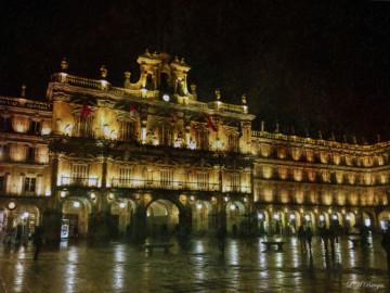La Plaza Mayor, foto de Luis Martín Barajas.