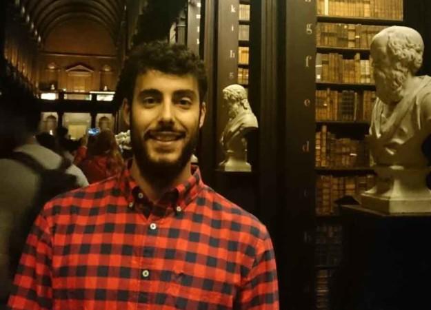 Antonio de Dios estudió informática en la Usal y ahora lidera varios proyectos en el área de e-commerce e in-store technology, de la multinacional estadounidense, Wlmart, en Dublin.