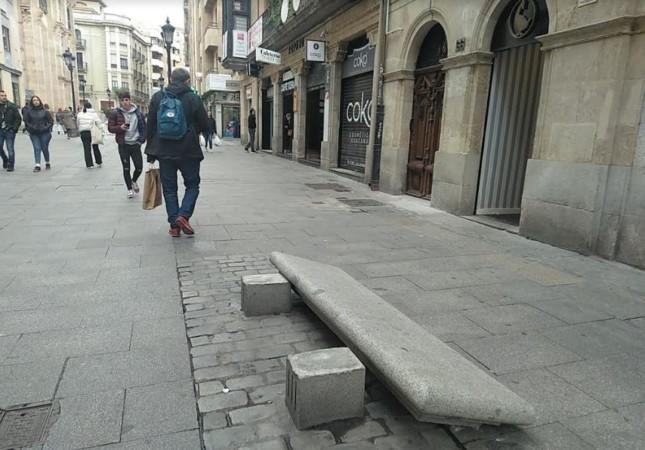 banco tirado calle toro