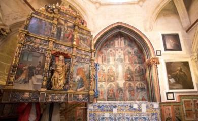 catedral vieja capilla santa barbara retablos goticos ical arranz 2
