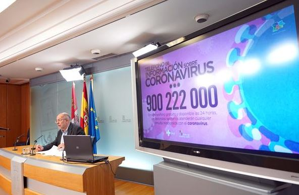 coronavirus junta telefono igea