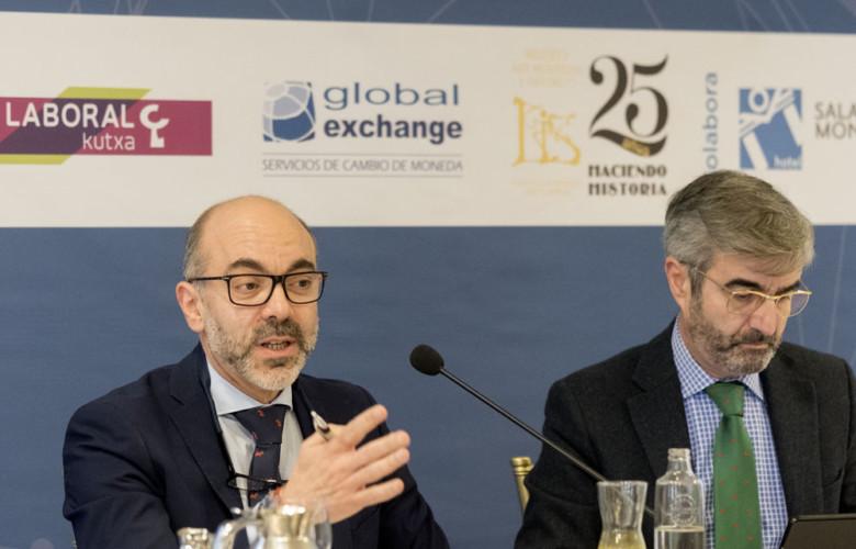 David Arranz. ICAL . El consejero de Cultura y Turismo de la Junta de Castilla y León, Javier Ortega, participa en el Foro económico de El Norte de Castilla.