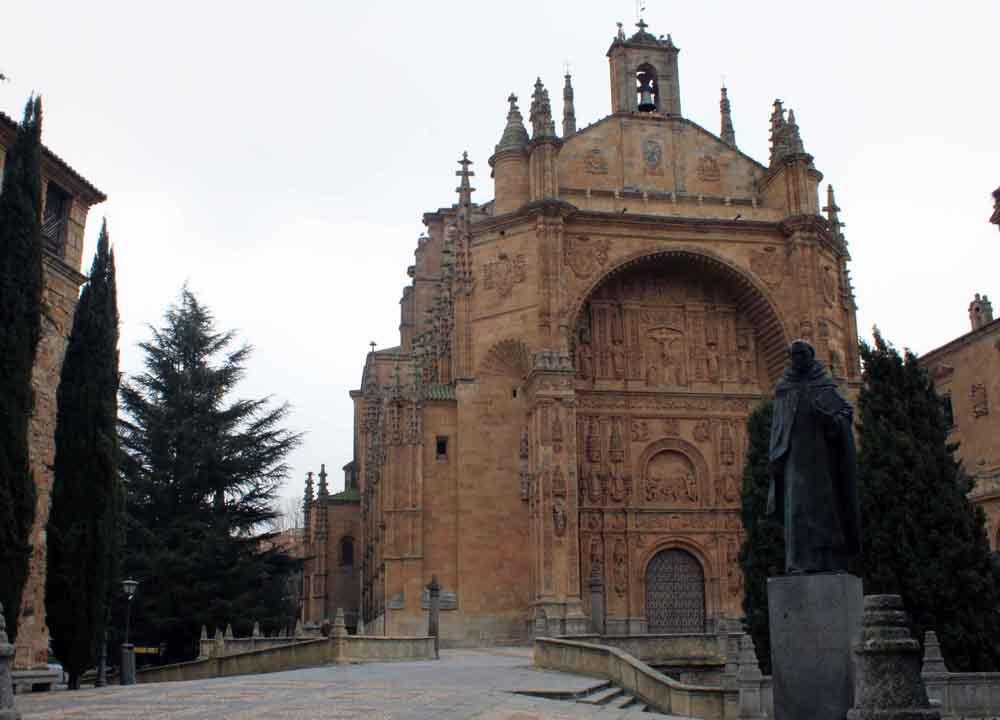 El convento de San Esteban, los Dominicos, Salamanca.