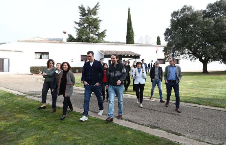 El Consejo de Ministros se reúne de manera informal en Quintos de Mora, con la economía en el centro