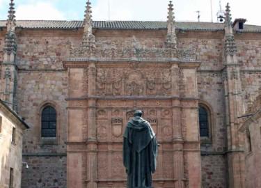 Fachada Rica de la Universidad de Salamanca.