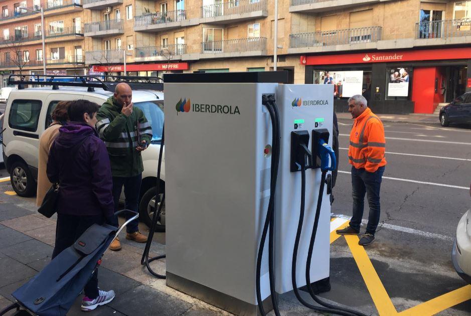 iberdrola 3 cargador coche electrico