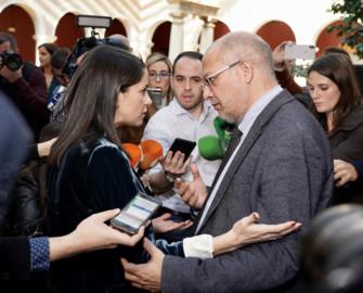 Inés Arrimadas y Francisco Igea. Foto. ICAL. Miriam Chacón .