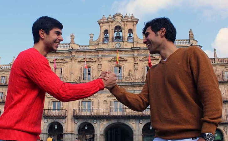 Jorge y José Ángel Alonso: Hermanos y futbolistas.