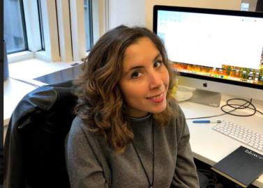 Marta Lozano Ballesteros estudió Bellas Artes en la Universidad de Salamanca y trabaja como diseñadora gráfica en Londres, en Red Sift.