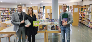 La biblioteca de Carbajosa contará con 300 nuevos libros.