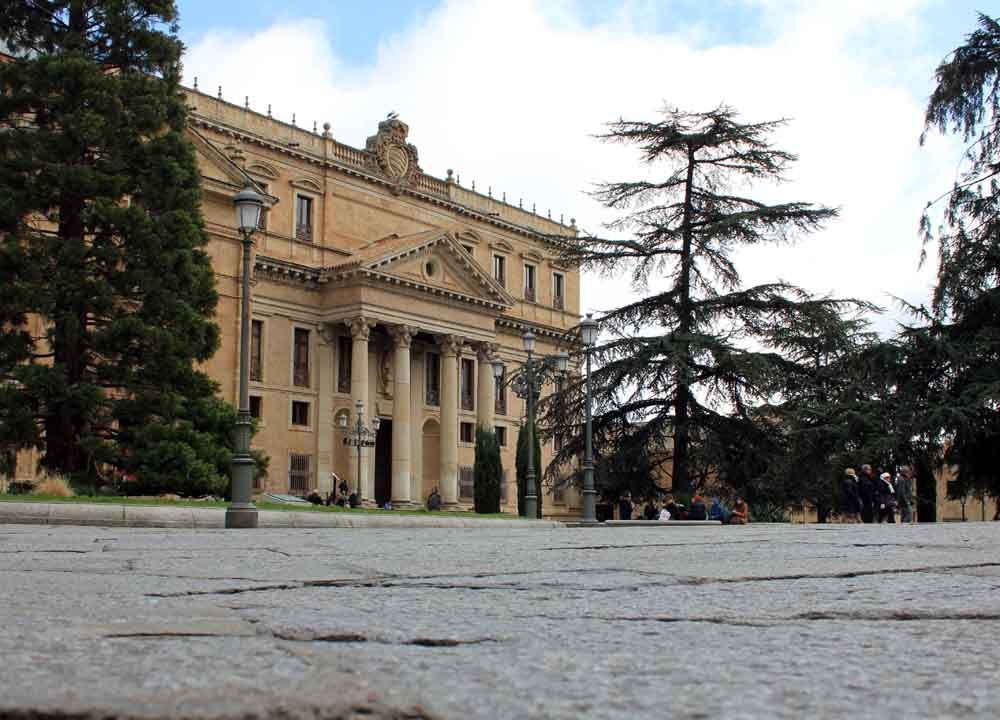 Plaza de Anaya, Salamanca.