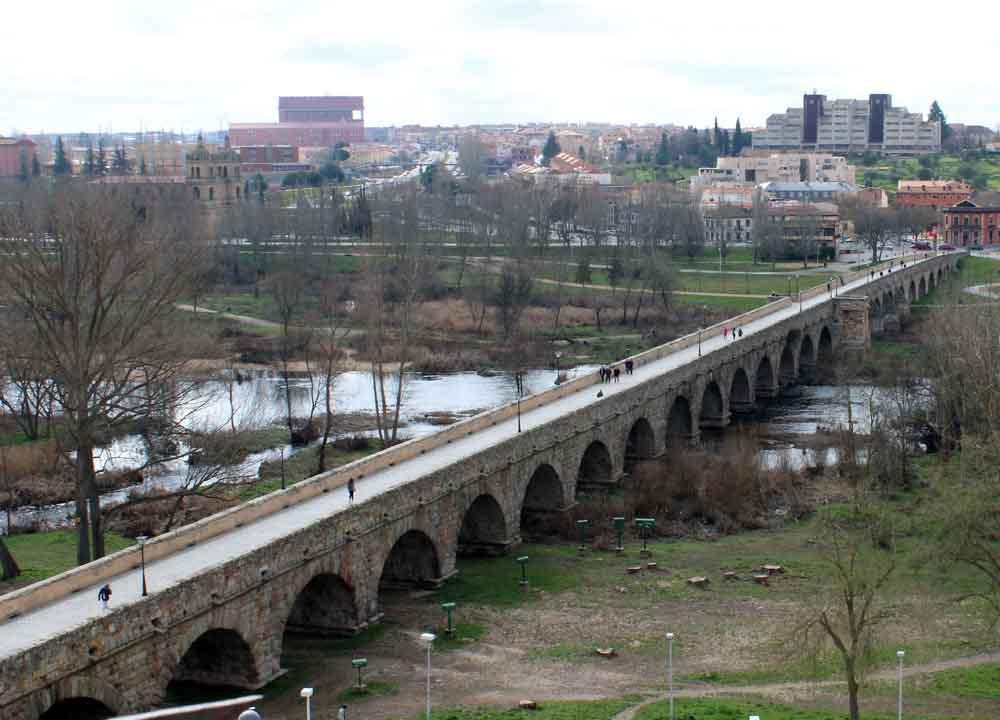 Puente Romano, de Salamanca.