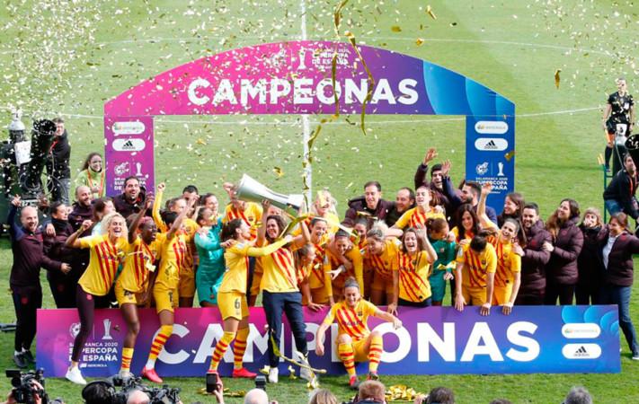 supercopa españa celebracion-barcelona