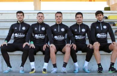 Cinco jugadores de Unionistas, Piojo, De la Nava, José Ángel, David Gallego y Diego González, nos hablan del derbi y nos dan su porra.