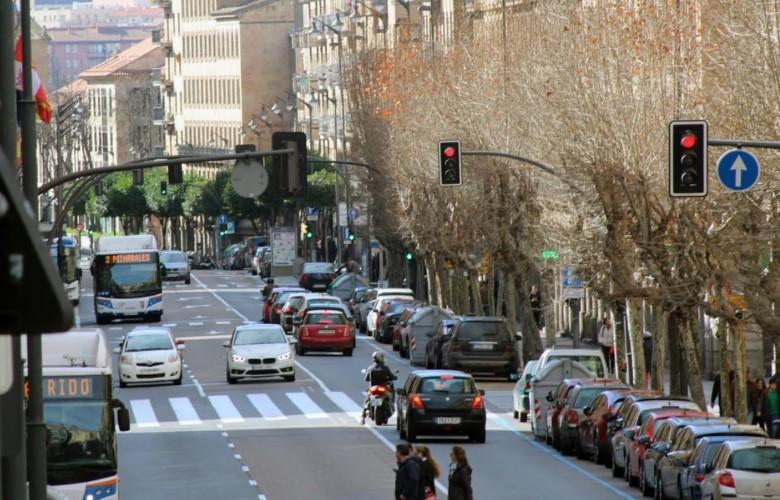vivienda pisos trafico peatones gran via