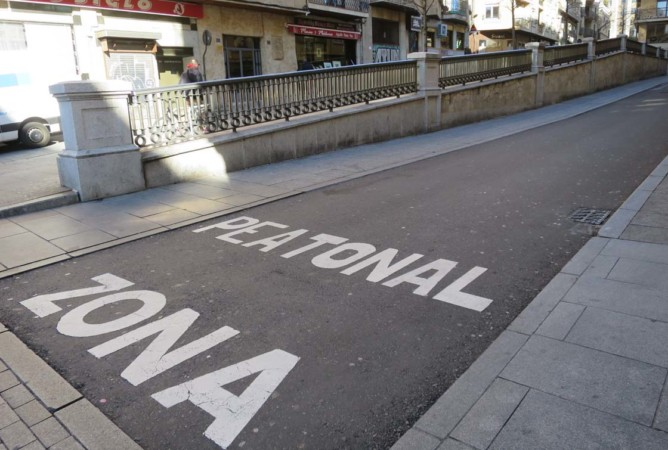 zona peatonal bermejeros