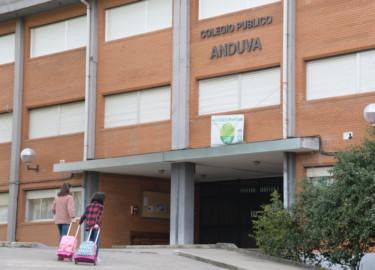 Ricardo Ordòñez / ICAL . Colegio público Anduva, en Miranda de Ebro, abierto con normalidad exceptuando tres aulas que se mantienen en cuarentena