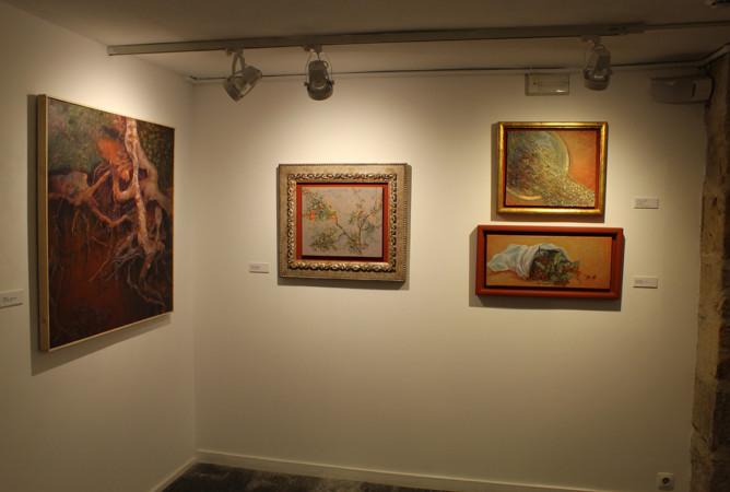 La obra de Teresa Sarto se puede ver hasta el 5 de abril en la Sala de Exposiciones de La Salina.