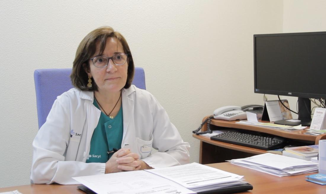 Concepción Román, jefa del Servicio de Dermatología.