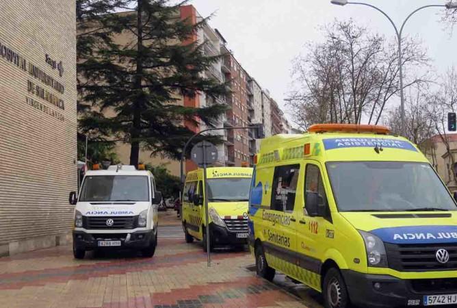 ambulancias hospital virgen vega