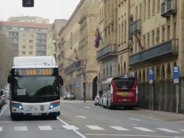 autobus gran via coronavirus