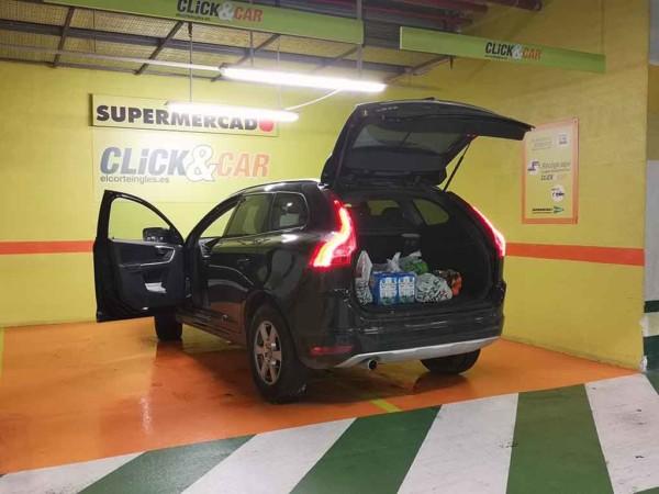 El servicio Click&Car, de El Corte Inglés de Salamanca.