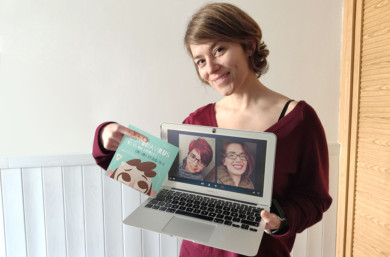 La periodista segoviana María Coco escribió el libro, que cuenta con las ilustraciones de la riojana Sara Ramírez y la coordinación de la periodista salmantina María R. Coco.