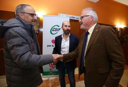 csif presidente nacional sanidad decha y alcalde ponferrada ical