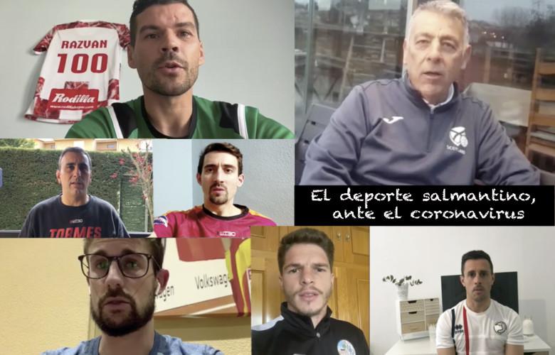 Deportistas y entrenadores de Salamanca hablan de cómo están pasando la crisis sanitaria.