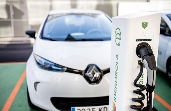iberdrola punto recarga coche electrico