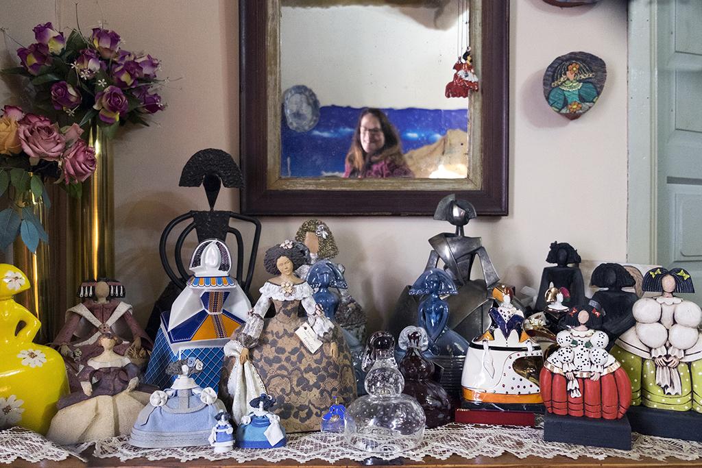 Jesús Formigo.. ICAL . La coleccionista y creadora de Meninas María Cruz Arroyo.