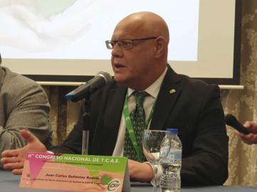 El presidente del sector de Sanidad de CSIF en Castilla y León, Juán Carlos Gutiérrez Rodilla.