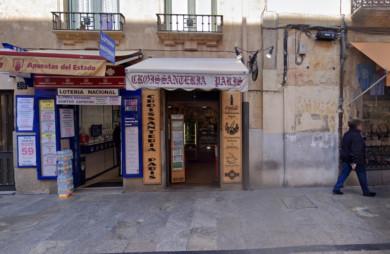 La Admon de Lotería de la calle de la Rúa. Foto. Google.